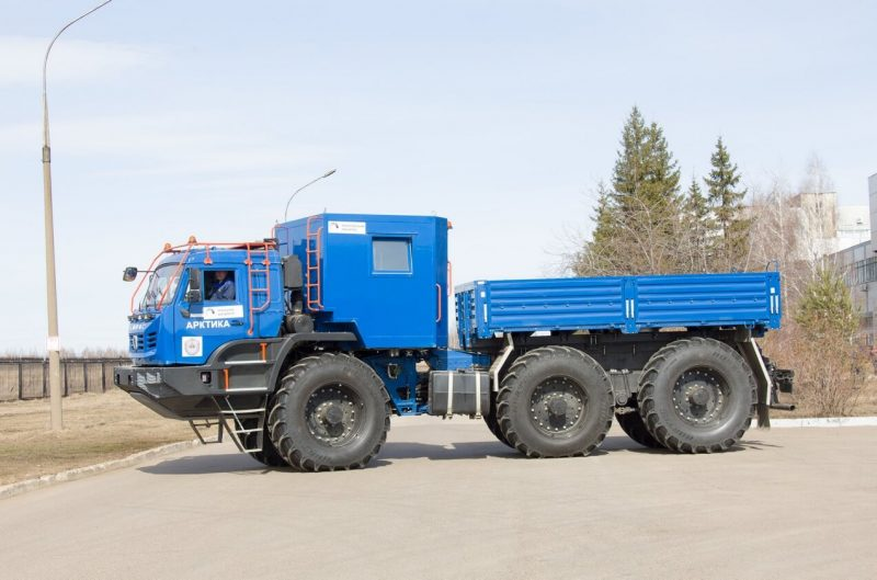 Side view of KAMAZ Arctic