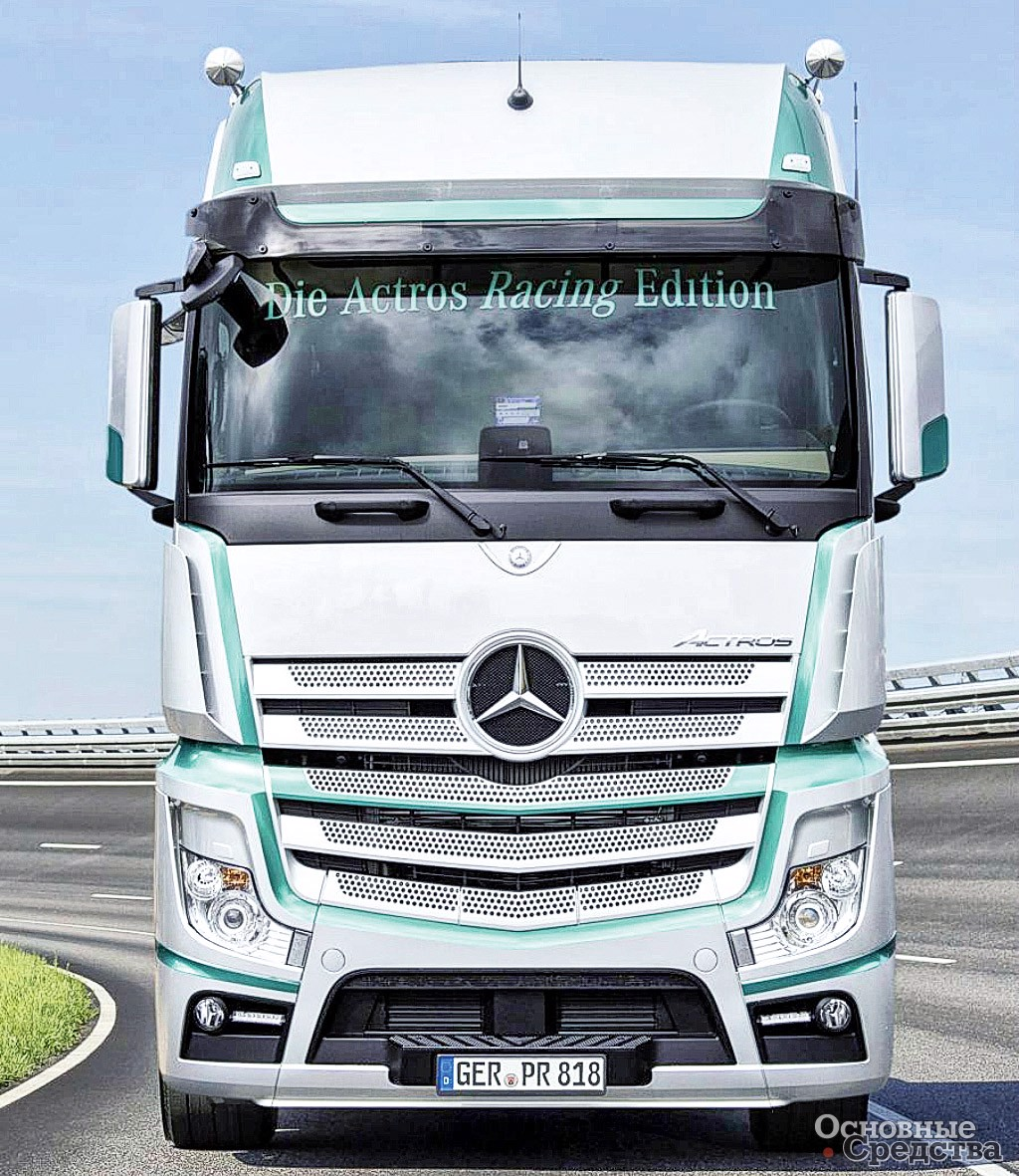 Mercedes-Benz Actros MP4 2017